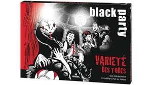Black Party Krimidinner-Spiele von moses. zu je € 10,- [Müller Abholung / Amazon Prime]