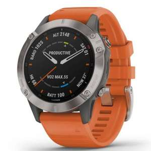 Garmin Fenix 6 (Pro) Saphir/Saphhire Titanium GPS Multisportuhr