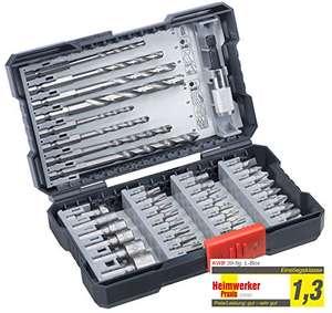 kwb 108960 39-teilige Bohrer-Box m. Sechkant-Schaft, HSS Metallbohrer, 4 x Steinbohrer und Bits PH, PZ u. TX..(Prime)