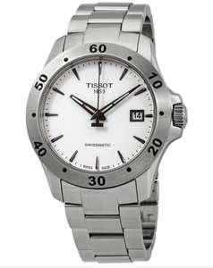 TISSOT V8 Automatic White Dial Men's Watch T1064071103101 ( 42 mm, Edelstahl, Saphirglas, 72 Stunden Gangreserve, wasserdicht bis 10 bar )