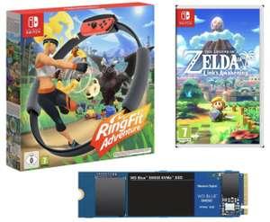 Cdiscount: Nintendo Switch Ring Fit Adventure für 52,98€ / The Legend of Zelda: Link's Awakening Switch für 35,88€ usw.