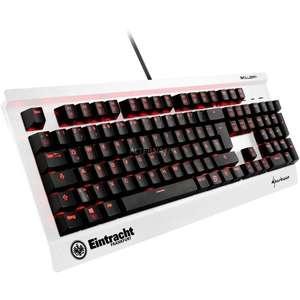 SharkoonSKILLER MECH SGK3 Eintracht Frankfurt Sonderedition, Gaming-Tastatur(schwarz/weiß, Kailh Red)