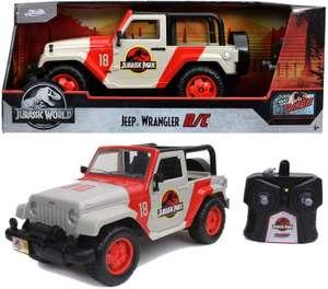 Jada Toys Jurassic Park Jeep Wrangler 1:16 RC Auto, ferngesteuertes Auto mit Fernsteuerung für 28,85€ (Müller)