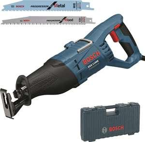 Bosch Professional Säbelsäge GSA 1100 E (1100 Watt, inkl. 1 x Sägeblatt S 2345 X für Holz, 1x Sägeblatt S 123 XF für Metall, im Koffer)