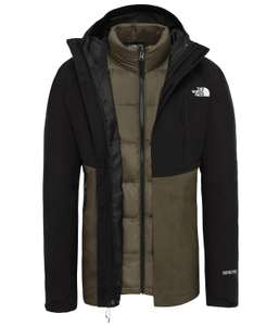 The North Face: Mountain Light Triclimate Doppeljacke oliv (Gr. S)