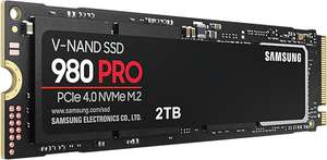 Cyberport Orange Week: z.B. Samsung 980 PRO PCIe 4.0 NVMe M.2 2TB SSD (7000MB/s Lesen & 5100MB/s Schreiben, 1200TBW, PS5-kompatibel)