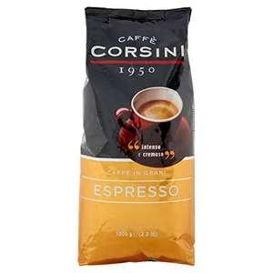 Caffè Corsini Espresso Intensive Und Cremige Kaffeebohnen, 1000 g, SparAbo