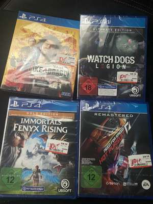 [Lokal Mediamarkt Saarlouis Part 2] Yakuza Like a Dragon Day Ichi, Immortals Fenyx Rising Gold, Watch Dogs Legion Ultimate je 10€