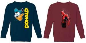 2 Pullover oder Hoodies für Kinder für 24€ inkl. Versand (175 Motive von Disney, Marvel, etc.)