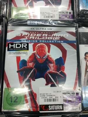 [Lokal Saturn Hamburg Altstadt] Spider-Man Trilogie 4K