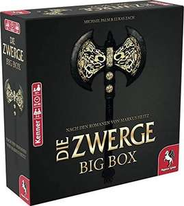 Die Zwerge Big Box Brettspiel (Gutschein Thalia Club 32,29€ / Amazon 35,99€) bgg: 8.0