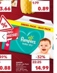 Pampers Premium Protection / Baby Dry Lokal Kaufland Freiburg
