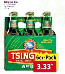 Tsingtao Bier gibt's beim LIDL in Solingen?? Nur Lokal??