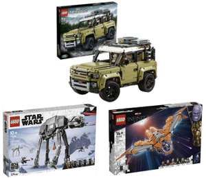 [MM Club] LEGO 42110 Land Rover Defender Bausatz für 114,19€ / LEGO Star Wars AT-AT 75288 92,59€ / LEGO 76193 Das Schiff der Wächter 97,99€