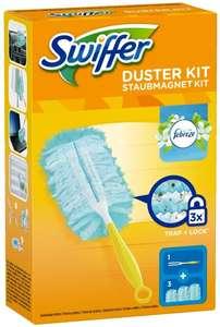 Div. Swiffer Produkte u.a. Staubmagnet Starterset und feuchte Bodenreinigungstücher