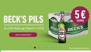 [Region Braunschweig] Kasten Becks 0,33l (Lokal)
