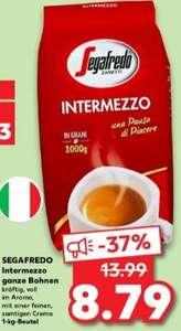 Segafredo Intermezzo Espresso ganze Bohnen 1kg ab 16.09 [Kaufland]