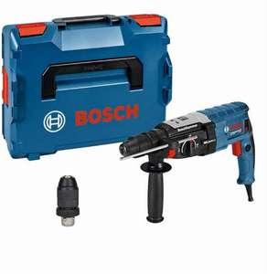 Bosch Professional Bohrhammer GBH 2-28 F (SDS-plus-Wechselfutter, 13 mm Schnellspannbohrfutter, Rückschlag-Schutz, in L-BOXX) [Amazon]