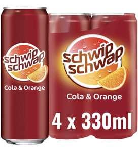 Amazon Prime: 4x 330ml Schwip Schwap Dosen, plus 1€ Pfand