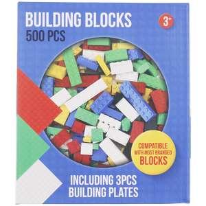 497 Klemmbausteine + 3 Stück 20x20 Noppen Grundplatten für 9,95€ [ ACTION ]