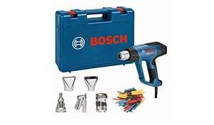 Amazon.de - Bosch Professional Heißluftpistole GHG 23-66 (2.300 Watt, Temperaturbereich 50-650 °C, inkl. Display, 5 Düsen,im Werkzeugkoffer)