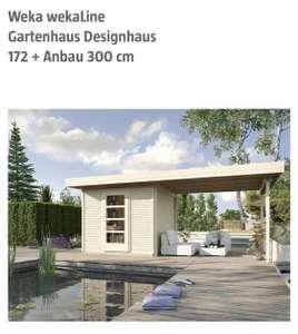 [Bauhaus] Weka wekaLine Gartenhaus Designhaus 172 + Anbau 300 cm