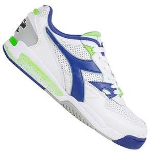 Diadora Leder-Sneaker Rebound Ace Double Action für 25,25€ + 3,95€ VSK (2 Farben verfügbar, Größe 40 - 46)