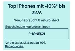 Ebay 10% auf Apple Iphones