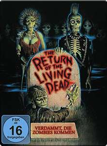 Return of the Living Dead - Verdammt, die Zombies kommen Limited Steelbook Edition (Blu-ray) für 12,74€ (Amazon Prime)