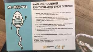 [Lokal Düsseldorf] Amazon Gutschein bei Spermaabgabe für eine Coronastudie
