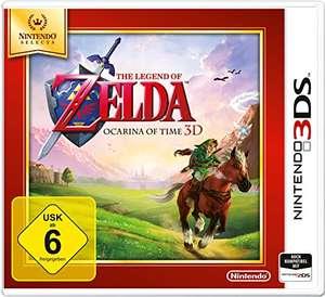 The Legend of Zelda: Ocarina of Time 3D - Nintendo Selects - Nintendo 3DS [Amazon Prime]