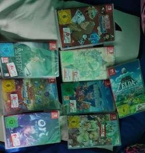 Lokal Mediamarkt Saarlouis - Nintendo Switch Spiele im Abverkauf ( z.b. Pokemon, Zelda und Mario )