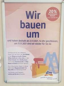 Lokal - dm Markt Senden (Iller) - Bayern - baut um