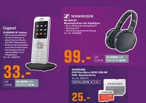[ab 20.09. - 20 Uhr] Sennheiser HD 450BT Over-ear Bluetooth Kopfhörer (ANC, USB-C) mit Füllartikel für 90€ | Gigaset CL660HX - 33€