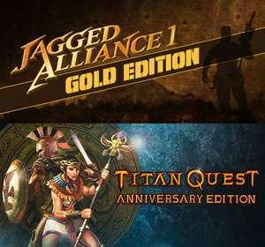 Titan Quest Anniversary Edition & Jagged Alliance 1: Gold Edition (Steam) kostenlos ab 19 Uhr