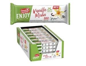 MHD 8/21 Vegane Protein Riegel, Geschmack Vanille Mohn, 3.23/kg