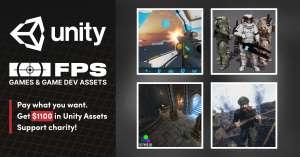 Humble Bundle Unity Software-Bundle FPS Games & Game Dev Assets