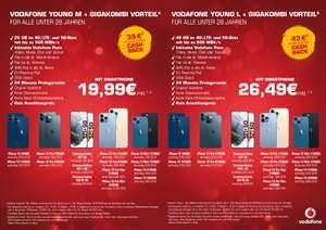Vodafone Young M + GigaKombi + iPhone 13