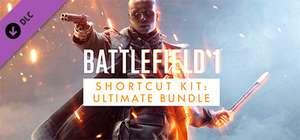 """Battlefield 1 ™ Shortcut Kit: Ultimate Bundle Limited Free Promotional Package - Sep 2021"" (Windows PC) gratis auf Steam"