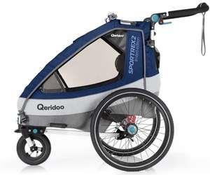 Qeridoo Fahrradanhänger Sportrex 2 2020 Limited Edition für 349€ / Sportrex 1 Limited Edition für 308,95€