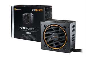 be quiet! Pure Power 11 700 Watt CM ATX V2.4 teilmodulares Netzteil 80+Gold (120mm Lüfter)