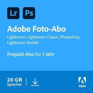 [Newsletter Gutschein] Adobe Creative Cloud Foto Abo DE