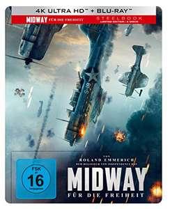Midway - Für die Freiheit [Steelbook] [4K/UHD] (Amazon Prime)