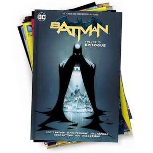 DC Comics Mystery Graphic Novel 10er-Pack (10 zufällig ausgewählte Hardcover-Comics in englischer Sprache)