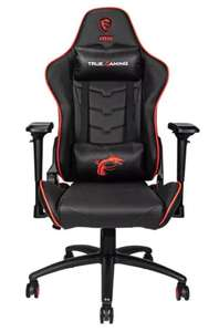 SATURN + Mediamarkt MSI MAG CH120 X Gaming Stuhl, Schwarz/Rot