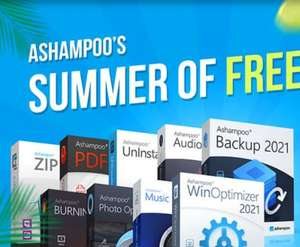 [ashampoo] Ashampoo Backup 2021 + 8 weitere Vollprogramme