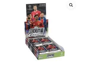 topps UEFA Champions League Stadium Club Chrome 2021 Hobby Box