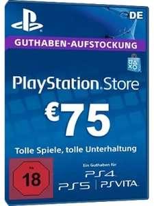 PSN Card 75€ [DE]