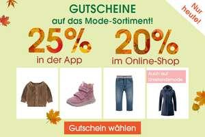 20% Rabatt (bzw. 25% in der App) auf Mode @Babymarkt, z.B. superfit Stiefel Groovy rosa ab 44,99€ oder name it Schneeanzug ab 41,24€