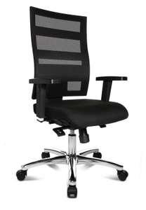 [STAPLES.de] TOPSTAR X-Pander Plus (Bürostuhl/Drehstuhl mit Stoffbezug und Stahlkreuz, 96-114 cm, schwarz) zum Bestpreis